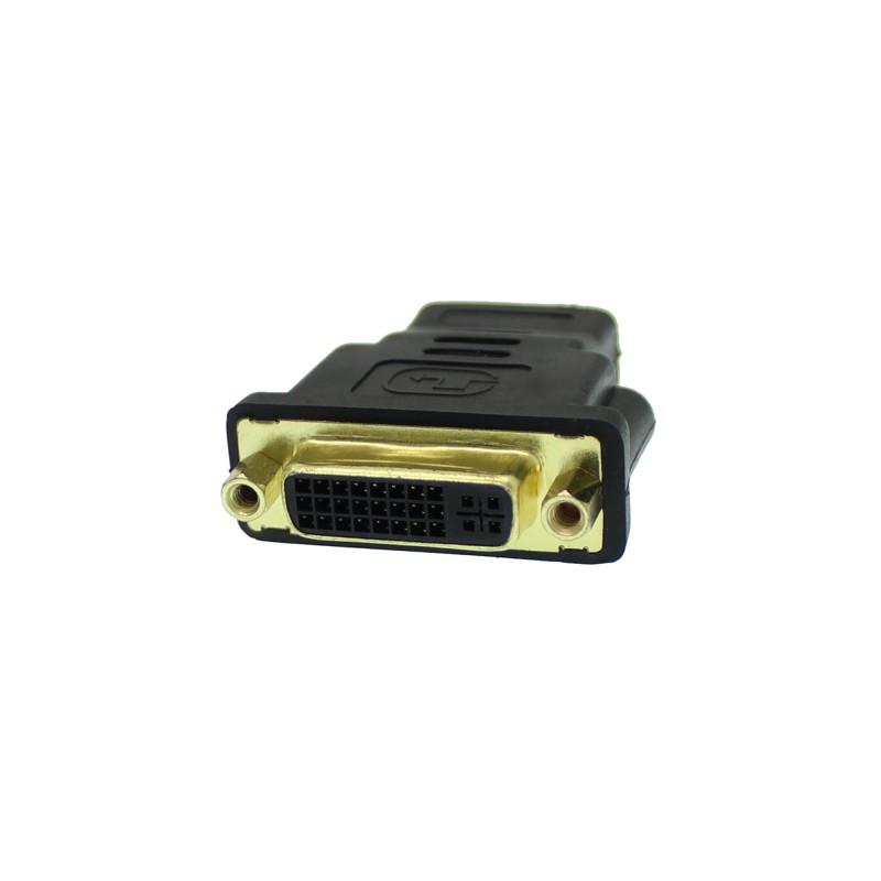 Αντάπτορας DVI-I θηλυκό σε HDMI θηλυκό OEM