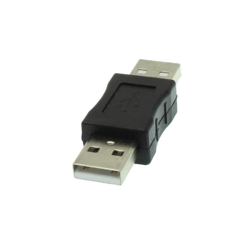 Αντάπτορας USB αρσενικό 2.0 σε USB αρσενικό 2.0 OEM