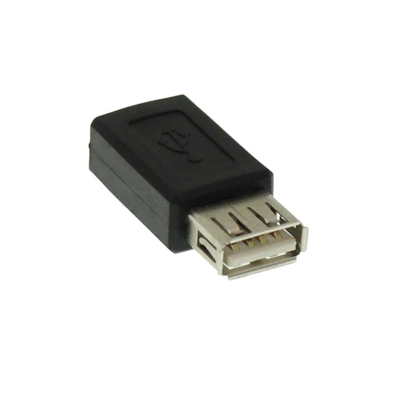 Αντάπτορας USB θηλυκό σε Micro USB θηλυκό OEM