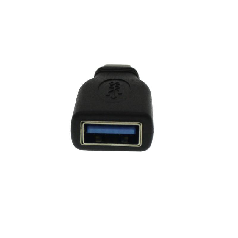 Αντάπτορας Τype C αρσενικό σε USB θηλυκό μαύρο ΟΕΜ