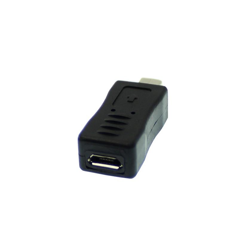 Αντάπτορας Mini USB 2.0 αρσενικό σε Micro USB θηλυκό OEM