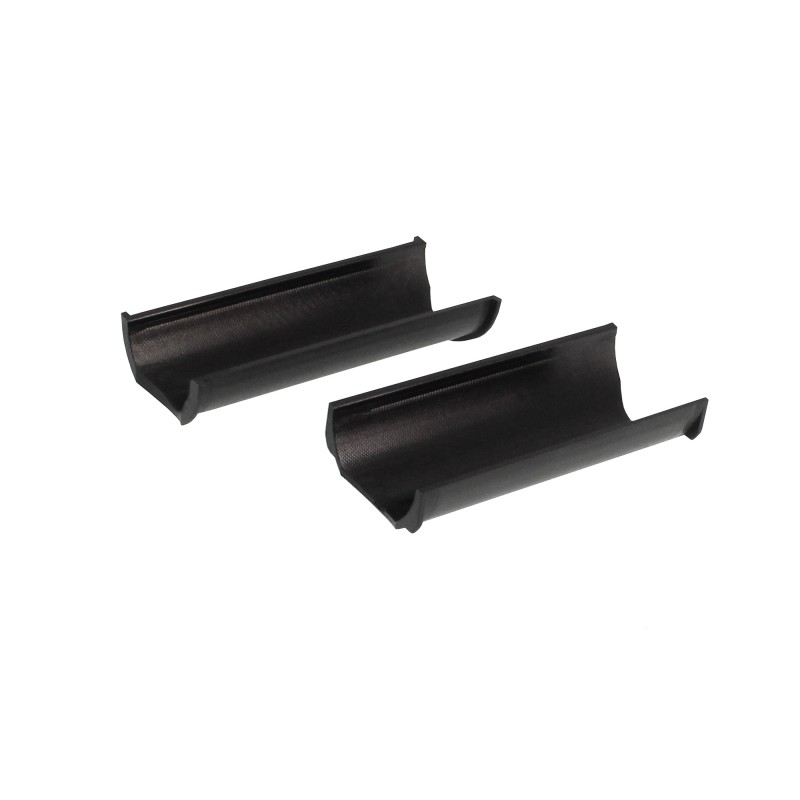 Προστατευτικό για κάγκελα μοτοσυκλέτας Φ 2.9/2.5/2.3cm μαύρο Motowolf MDL3701 OEM