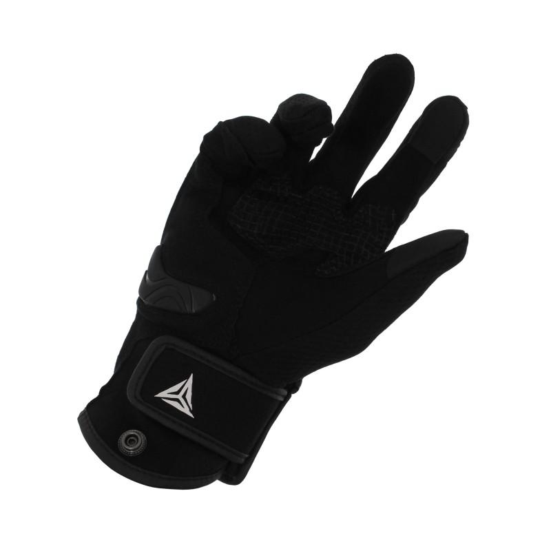Αδιάβροχα καλοκαιρινά γάντια μηχανής με προστασία στις αρθρώσεις XL γκρι Motowolf MDL0308