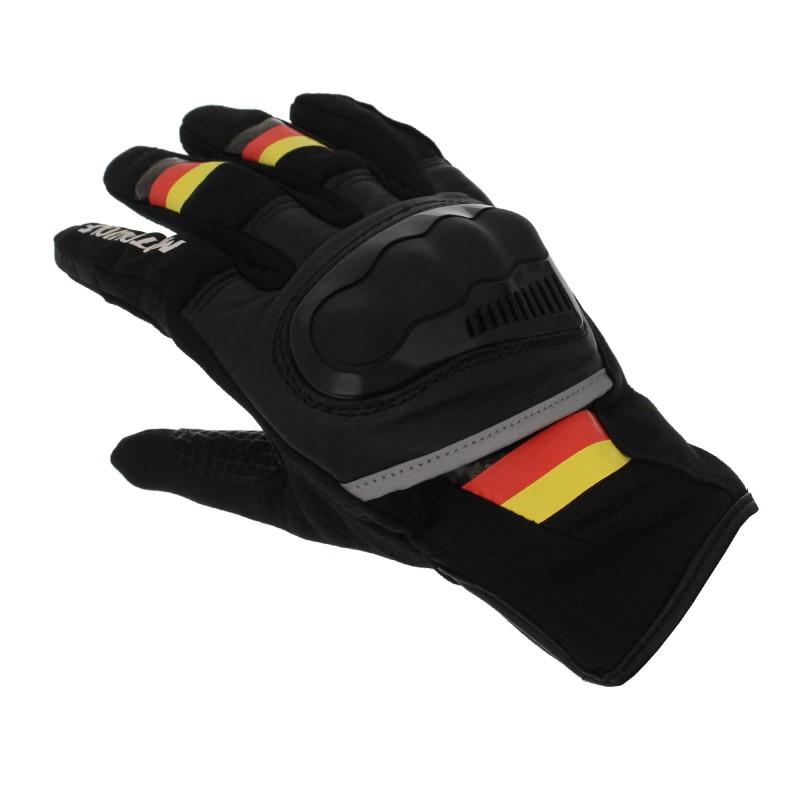 Αδιάβροχα καλοκαιρινά γάντια μηχανής με προστασία στις αρθρώσεις XL κίτρινο Motowolf MDL0308