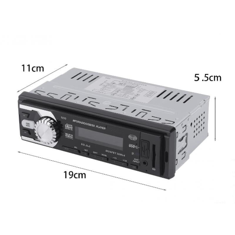 Radio Mp3 Player αυτοκινήτου με θύρα USB CDX-GT1233 OEM Car Audio ee2365
