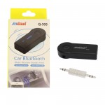 Bluetooth Receiver 3.5mm Jack με ενσωματωμένο μικρόφωνο για το αυτοκίνητο Q-305 Andowl