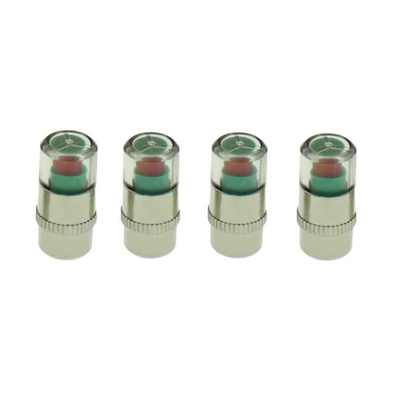Σετ 4 τεμαχίων Διαγνωστικής τάπας πίεσης ελαστικών OEM