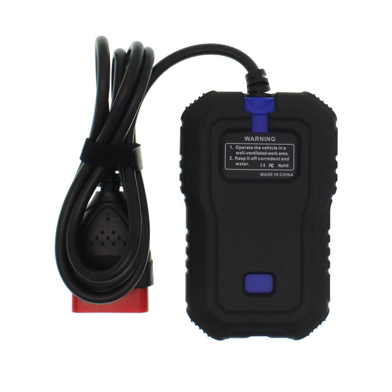 Διαγνωστικό αυτοκινήτου OBD2 πλήρους συστήματος με ψηφιακή οθόνη KW350 Konnwei OEM