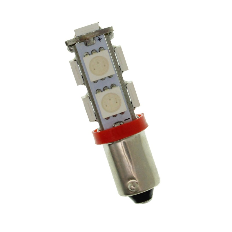 BA9S 5050 Canbus 9 SMD 12V κόκκινο1 τεμ. OEM Ba9s ee3500