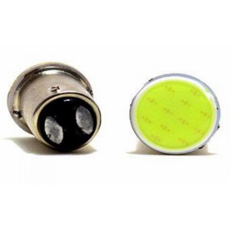 Διπολική λάμπα LED Canbus cob 1157 BA15S λευκό 1 τεμ. OEM