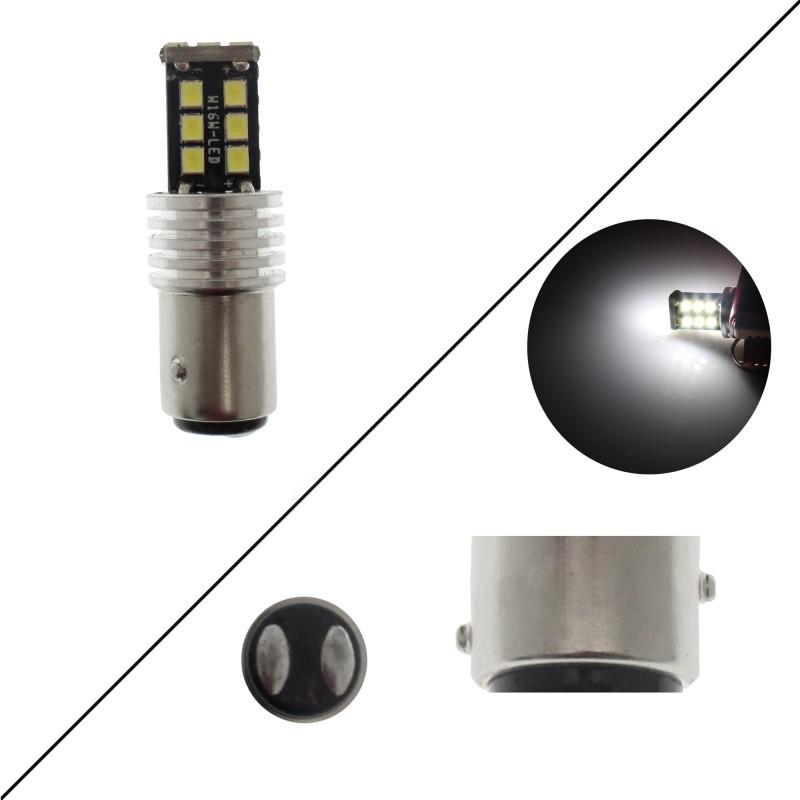 Διπολική λάμπα LED 1157 2835 15 SMD λευκό OEM Διπολικές ee3489