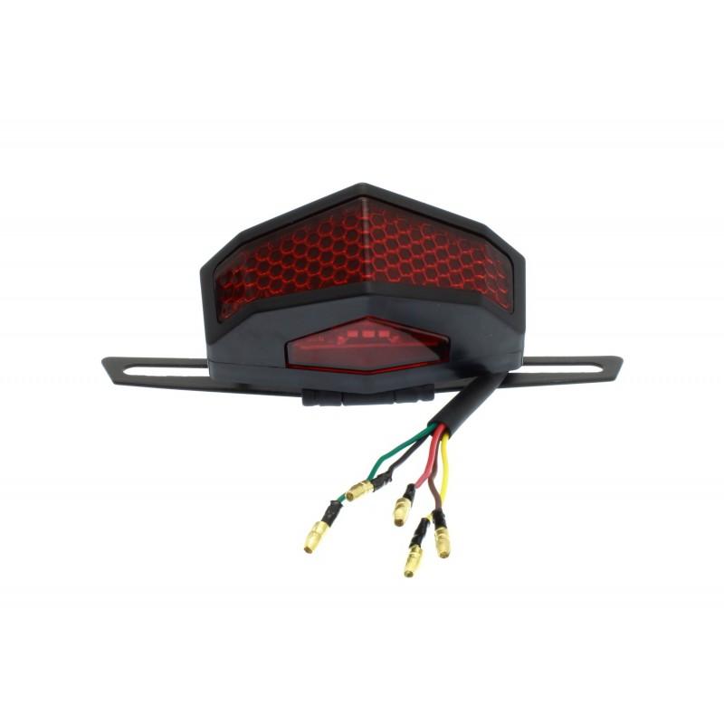 Πίσω φανάρι φλας στοπ πορείας 12V 19 SMD IP66 κατάλληλο για μοτοσυκλέτες OEM Φανάρια ee4039