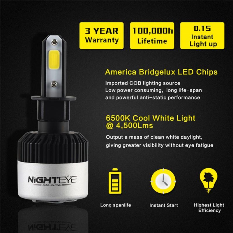 H39-32V LED ( 72W 9000LM ) 6500K IP68 A315 S2 NIGHTEYE H-3 ee3105