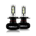 H4 LED 12V/24V (50W 8000LM) 6500K IP68 NIGHTEYE A315 S1 H-4 ee1669