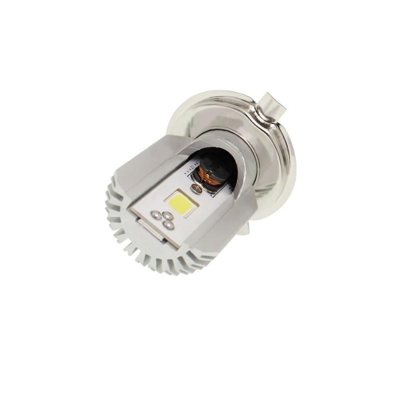 1 X 12W H4 12/24V LED MOTO 2 SMD 6000K IP65 OEM H-4 ee2700