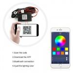 H4 LED 12V/24V (40W 6000LM) 6000K Bluetooth RGB IP68 OEM H-4 ee3304