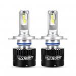 H4 LED 12V (80W 14400LM) 5500K IP68 A500 N16 NOVSIGHT 2 x 40W