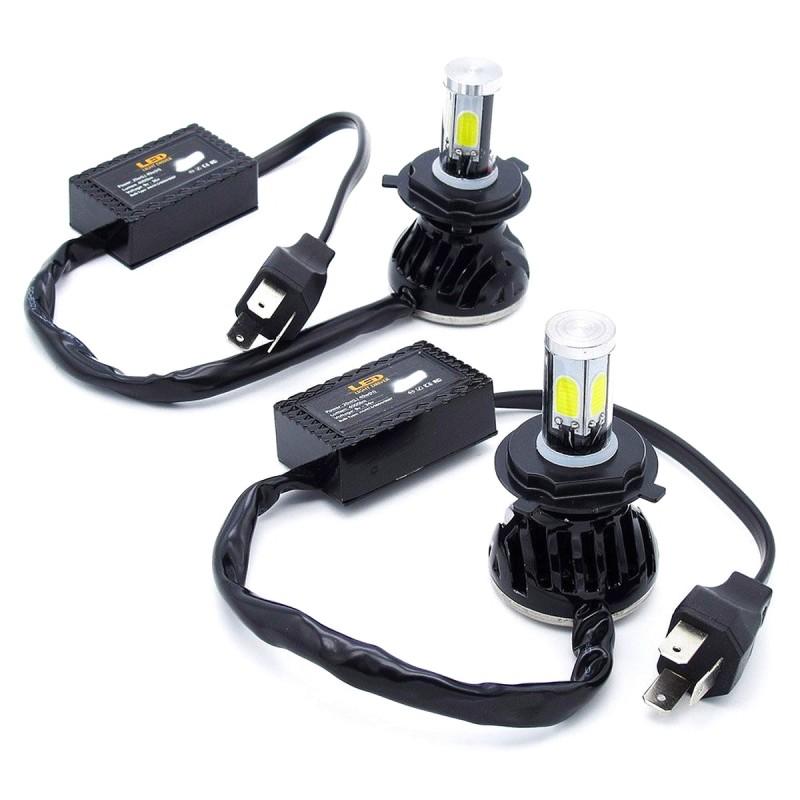 H4 φώτα LED αυτοκινήτου 12V/24V IP68 Headlight (80W 8000LM) 6000K G5 OEM