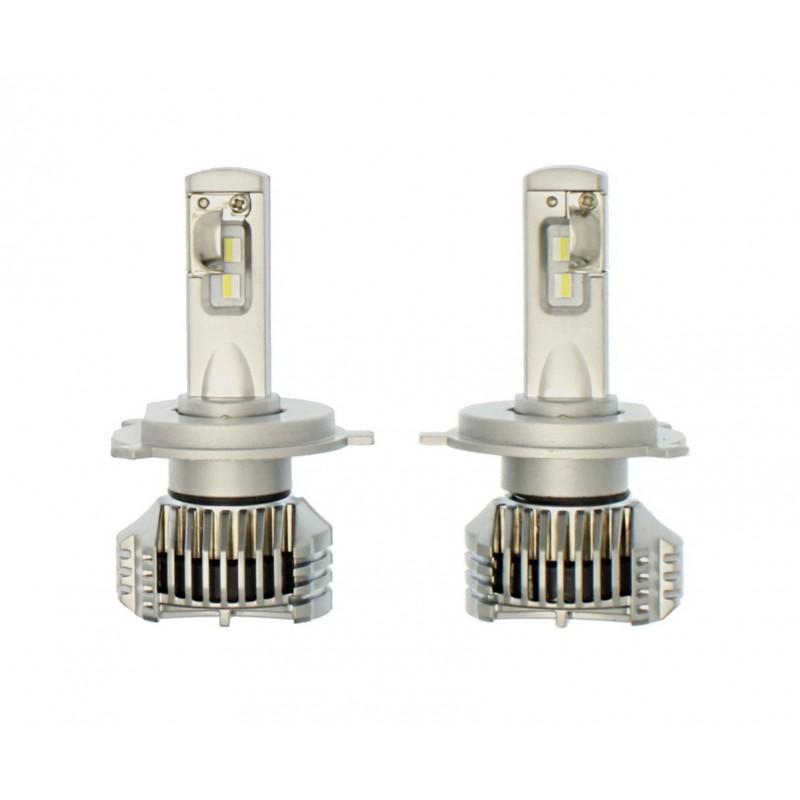 H4 P10 Series LED φώτα πορείας 12V/24V 2x26W (52W 6000LM) 6000K AUXBEAM