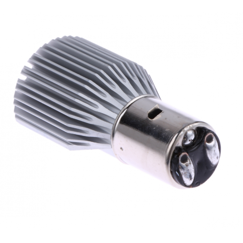 H6 Led BA20D 1000LM BA20D H/L Headlight DC/AC 12~36V  6500K COB 1τεμ. IP65 OEM H-6 ee1869