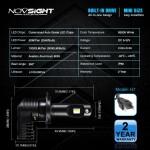 H7 LED 12V/24V (50W 10000LM) 6500K IP68 A500 N20B NOVSIGHT 2 x 25W