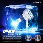 H7 LED 12V/24V (72W 10000LM) 6500K IP68 A500N12NOVSIGHT2 x 36W