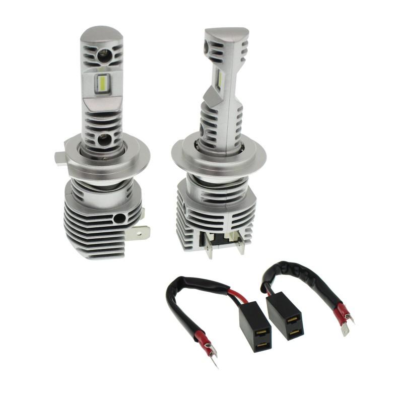 H7 LED 12V 50W 8000LM 6000K IP68 A500 N36 NOVSIGHT 2 x 25W