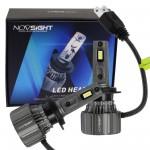 H7 LED 12/24V 70W 15000LM 6500K IP68 A500 N50 NOVSIGHT 2 x 35W 2 έτη εγγύηση