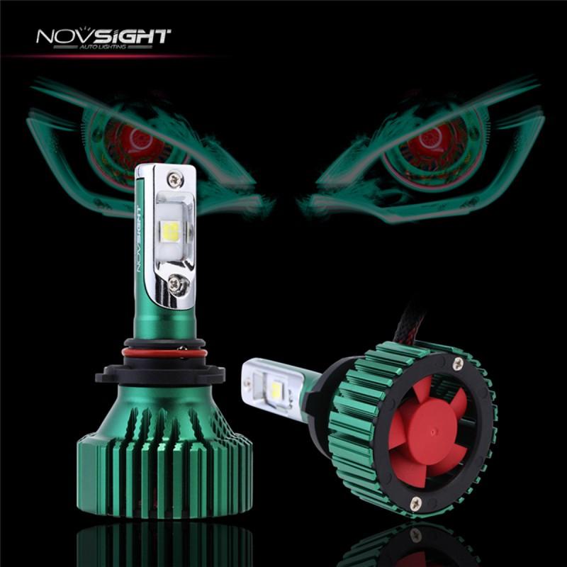 HB3 9005 LED 9-32V IP65 (60W 16000LM) 6500K A384 N8 NOVSIGHT HB-3 ee3093