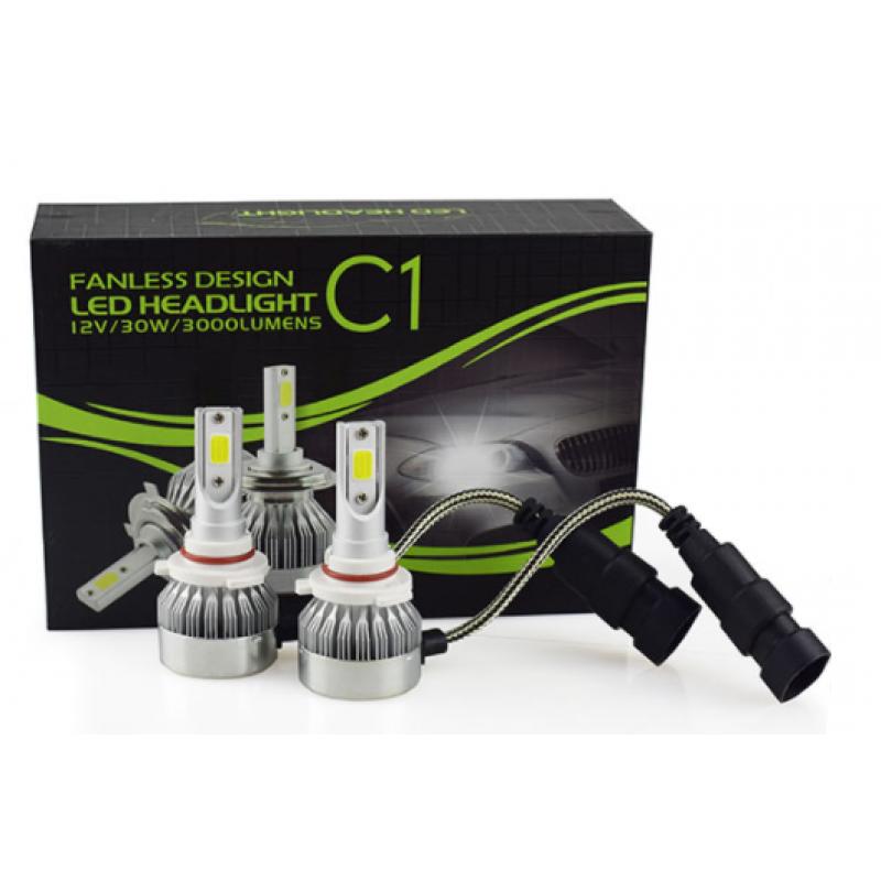 9005 φώτα LED αυτοκινήτου 12V/24V 60W 6000LM PROTECTED COB Headlight C1 IP67 OEM HB-3 ee3429