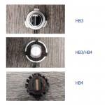 HB3 9005/HB4 9006 LED 12V/24V 60W 10000LM 6500K IP68 A386 N9 NOVSIGHT 2 X 30W 2 έτη εγγύηση