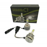 9006 φώτα LED αυτοκινήτου 12V/24V 60W 6000LM PROTECTED COB Headlight C1 IP67 OEM HB-4 ee2334