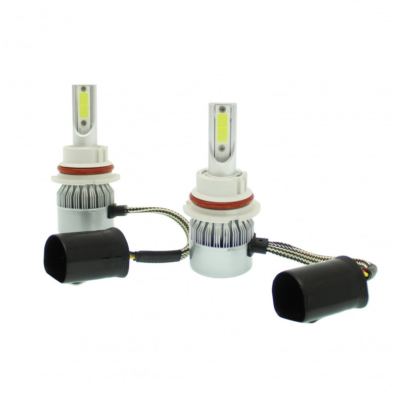 HB-5 φώτα LED αυτοκινήτου HI/LOW 12V/24V IP67 Headlight (60W 8000LM) 6000K OEM HB-5 ee3059