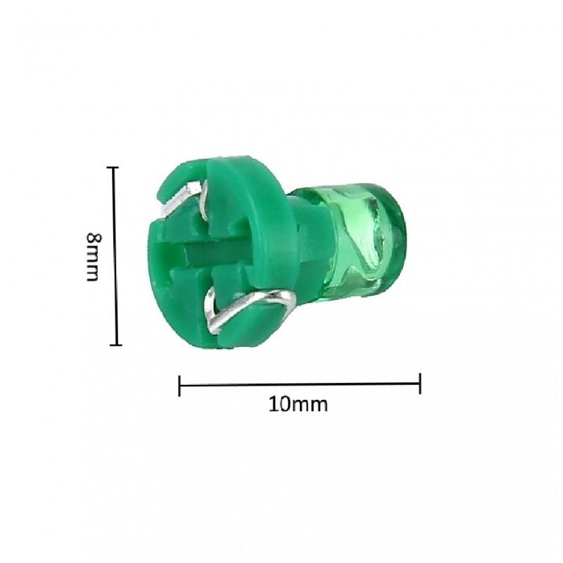 LED T3 1 SMD 12 V για όργανα αυτοκινήτου 1 τεμ. πράσινο ΟΕΜ Για όργανα ee2956
