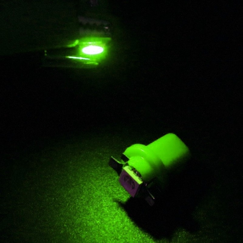 LED για όργανα αυτοκινήτου T5 B8.5D Πράσινο 1 τεμ. OEM Για όργανα ee3467