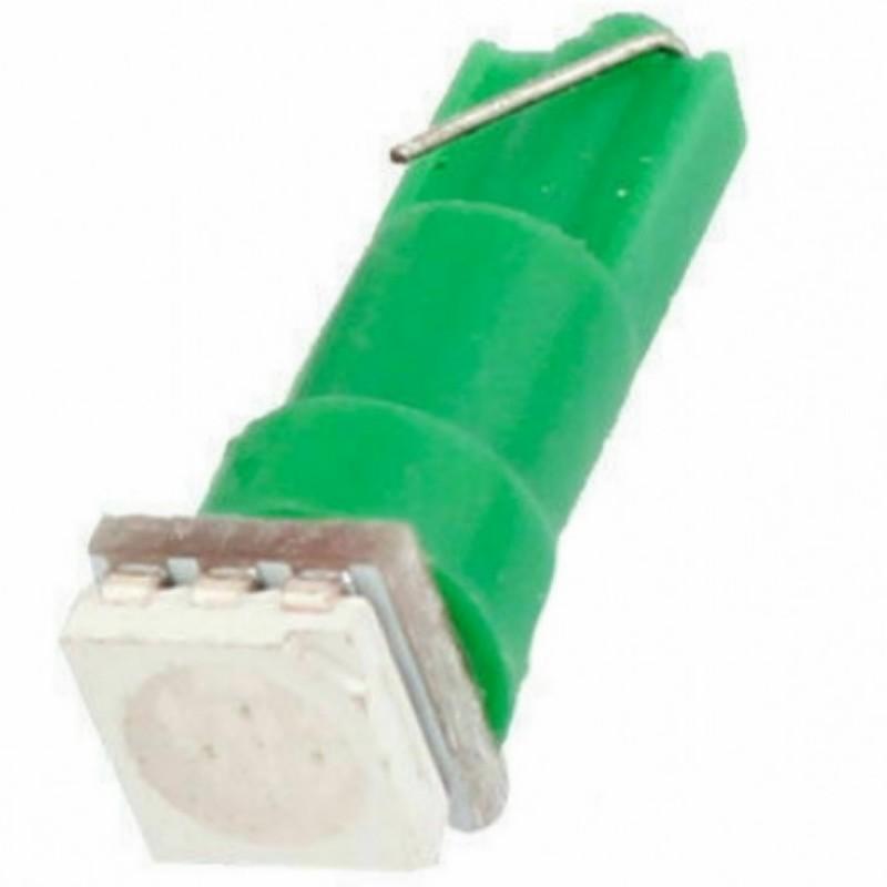 PC74 T5 LED Twist Socket 1τεμ. πράσινο OEM Για όργανα ee3475