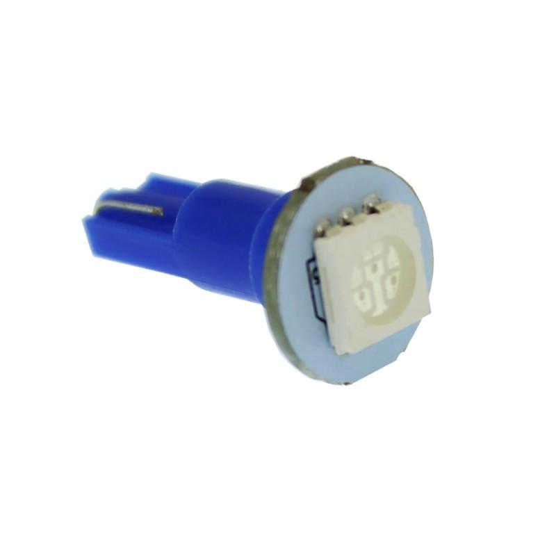 T5 PC74  LED Twist Socket 12V 20LM μπλε 1 τεμ. OEM