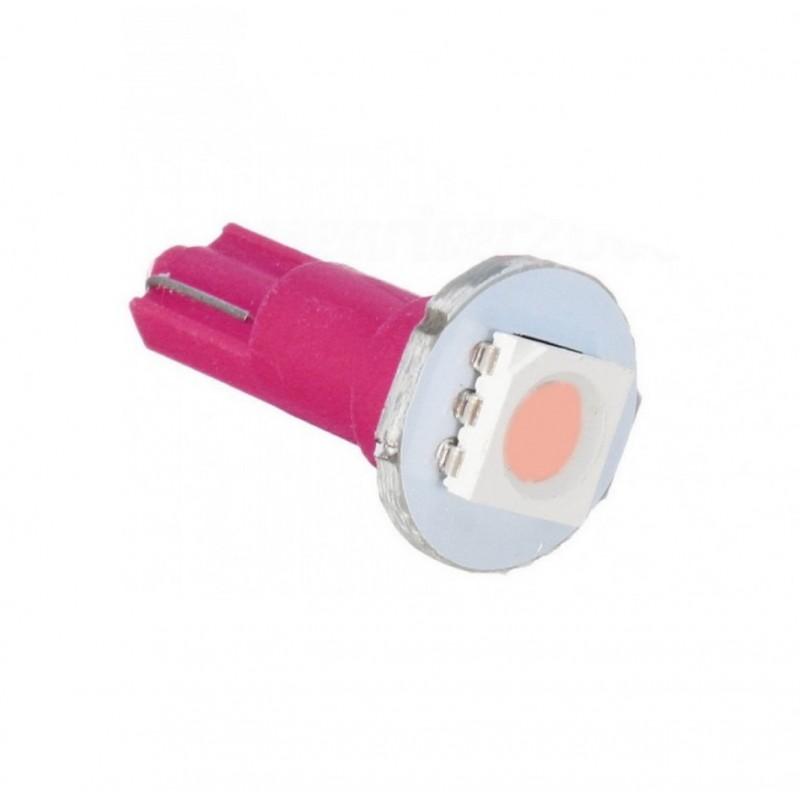 PC74 T5 LED Twist Socket 1τεμ. μωβ OEM