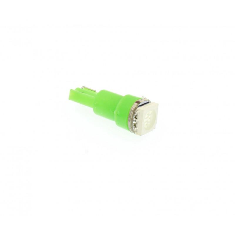T5 LED 1 5050 SMD 24V 30LM 1τεμ. πράσινο OEM