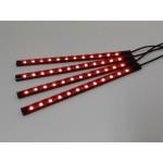 Διακοσμητικά LED RGB panel αυτοκινήτου 23cm OEM LED Gadget ee4041