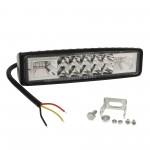 Αδιάβροχος προβολέας LED μπάρα κατευθυντικός/διασποράς 15cm 18W 16 SMD 12V/24V 2500LM 6000K και μπλε IP67 για βάρκες/τρακτέρ/φορτηγά/αυτοκίνητα ΟΕΜ