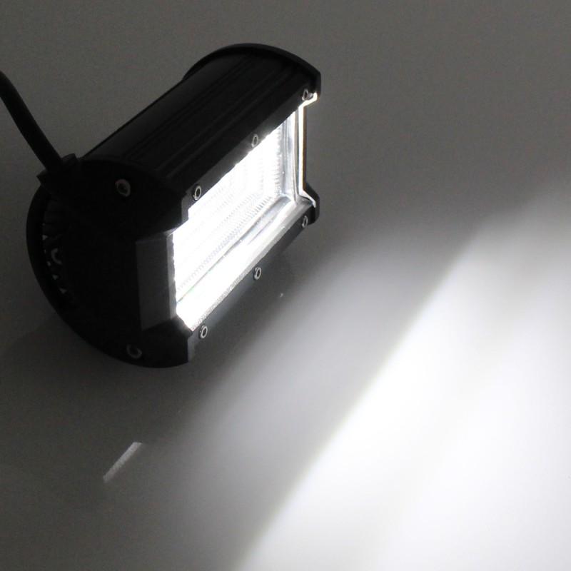 Αδιάβροχος προβολέας LED μπάρα διασποράς 12.7cm 72W 24 SMD 9-36V 4860LM 6000K IP67 για βάρκες/τρακτέρ/φορτηγά/αυτοκίνητα OEM