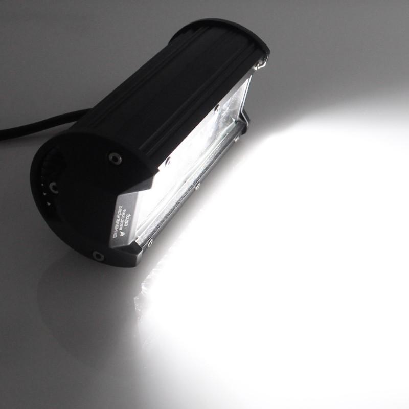 Αδιάβροχος προβολέας LED μπάρα combo 16.2cm 120W 40 SMD 9-36V 6480LM 6000K IP67 για βάρκες/τρακτέρ/φορτηγά/αυτοκίνητα OEM