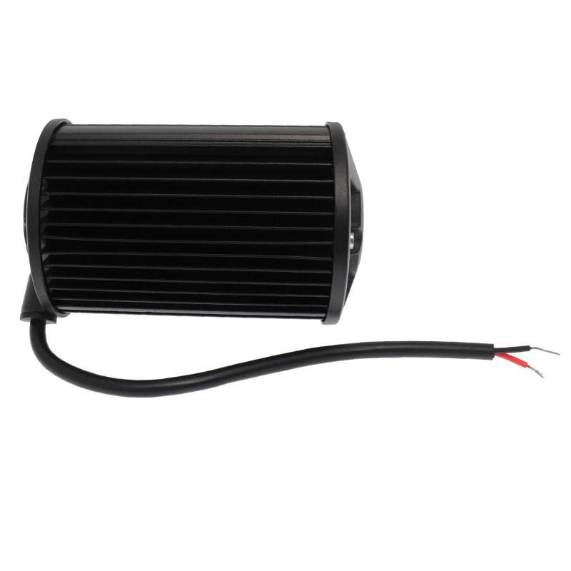 Αδιάβροχος προβολέας LED μπάρα διασποράς 12.7cm 72W 24 SMD 2 σειρών 9-36V 4860LM 6000K IP67 για βάρκες/τρακτέρ/φορτηγά/αυτοκίνητα OEM