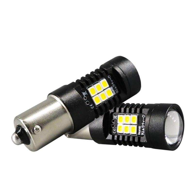 Μονοπολική λάμπα LED 1156 21 SMD canbus ψυχρό λευκό 1 τεμ. OEM