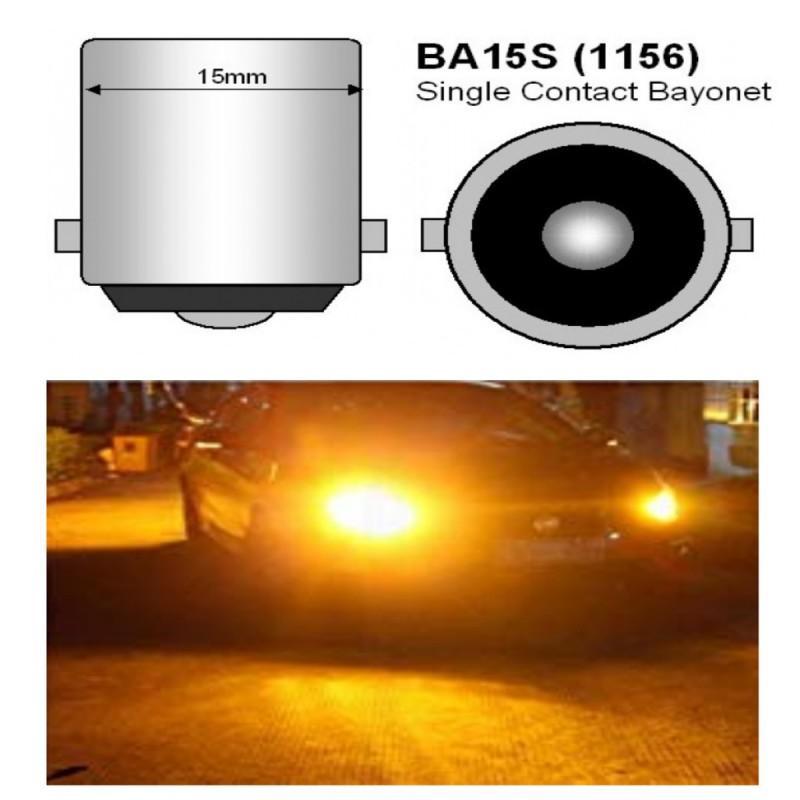 Μονοπολική λάμπα πορτοκαλί LED 1156 16 SMD 5630 1 τεμ. OEM Μονοπολικές ee3367