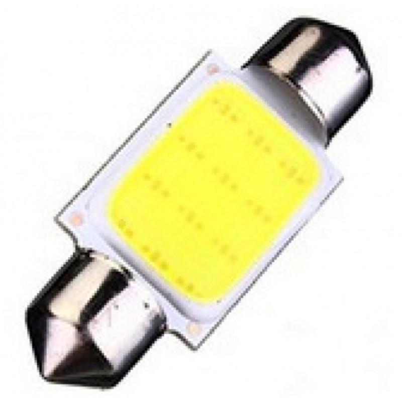 C5W LED λαμπτήρας πλαφονιέρας 41mm 12V 1.5W COB festoon OEM 39mm ee2024