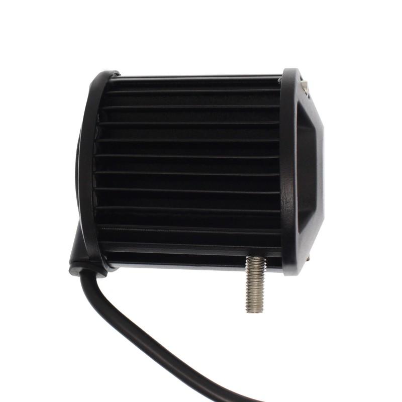 LED αδιάβροχος προβολέας διασποράς 9.3cm 18W 6 SMD 9-36V 5200LM 6500K IP68 για βάρκες τρακτέρ φορτηγά αυτοκίνητα OEM