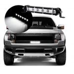 LED αδιάβροχος προβολέας μπάρα κατευθυντικός 19 cm 18W 6 SMD 12V/24V 1620LM 6500K IP67 για βάρκες τρακτέρ φορτηγά αυτοκίνητα OEM