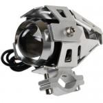 Αδιάβροχος προβολέας μοτοσυκλέτας Cree LED U5 ασημί χρώματος τεμ. 1 IP67 OEM Προβολείς ee3116